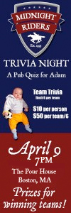 Midnight Riders Trivia Event - Pub Quiz for Adam