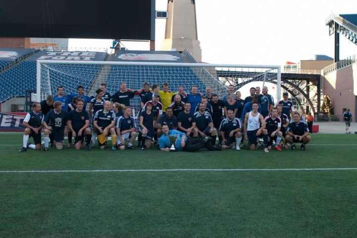2012 New England Revolution Supporters Cup Winners