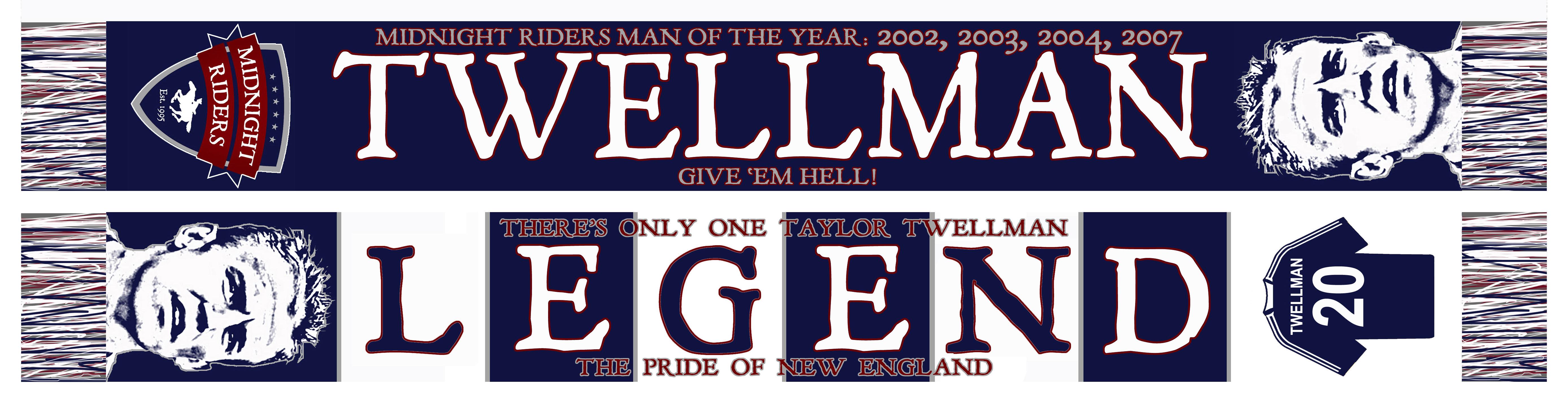 Taylor Twellman Legend Scarf