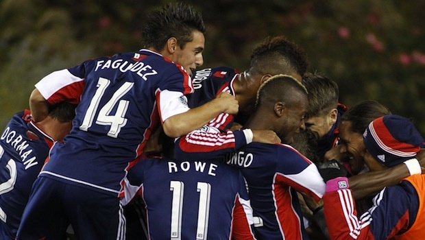 New England Revolution Celebrate