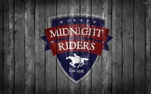 Midnight Riders Wood Texture Desktop