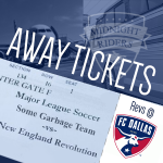 Revs at Dallas Away Ticket