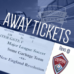 Revs at Rapids (away tickets)