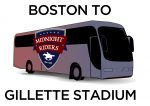 Bus from Boston for Revs Games