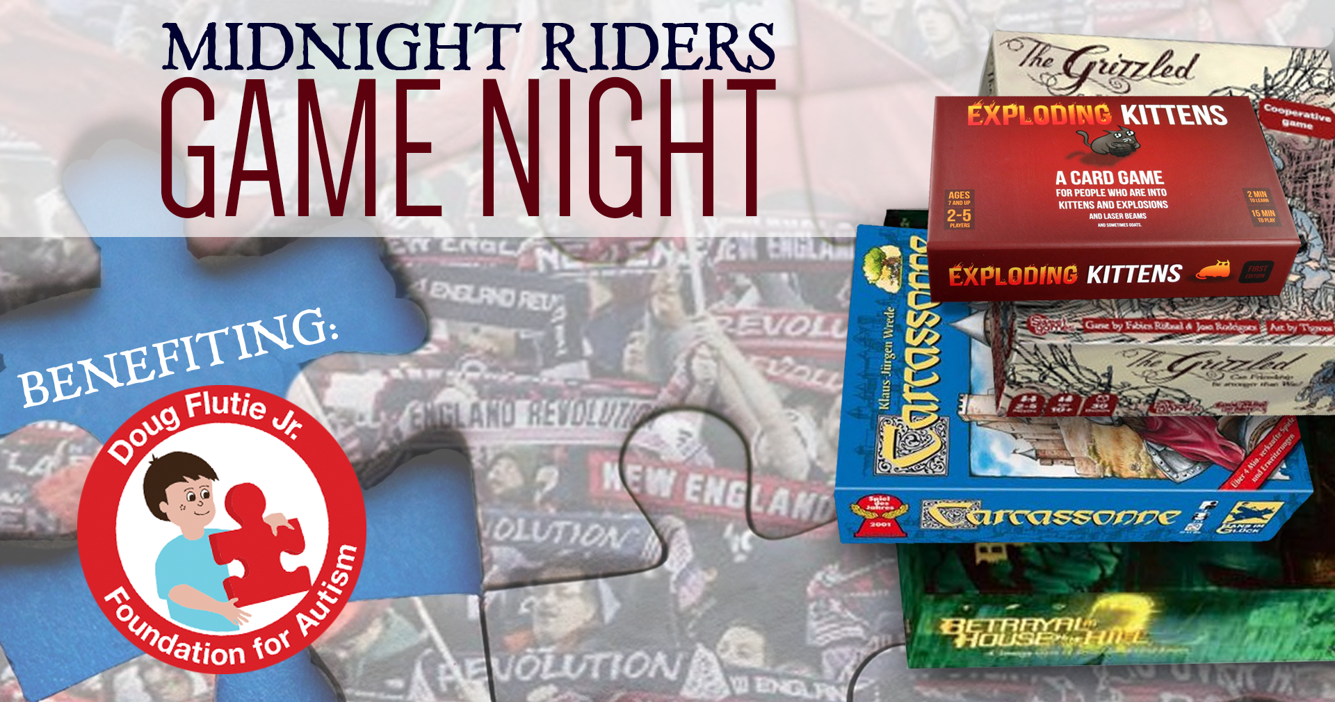 Midnight Riders Game Night