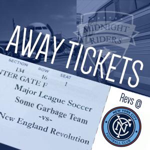 Revs at NYCFC Tickets