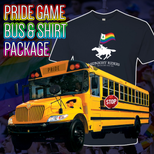 Pride and Bus Package Shop Graphic