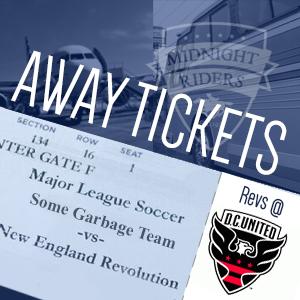 Revs at DC Tickets